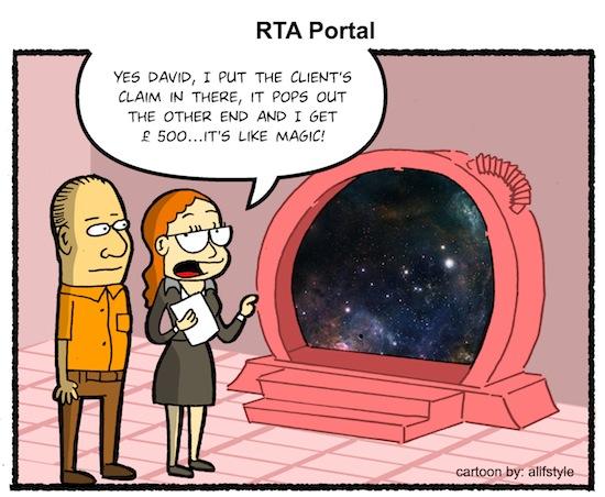 RTA Portal Cartoon - Law firm websites, CRM & marketing